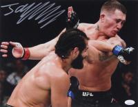 Jorge Masvidal Signed UFC 11x14 Photo (JSA COA) at PristineAuction.com