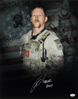 "Robert O'Neill Signed 16x20 Photo Inscribed ""Never Quit!"" (JSA COA) at PristineAuction.com"