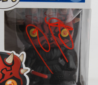 "Ray Park Signed ""Star Wars"" #09 Darth Maul Funko Pop! Vinyl Figure (Beckett Hologram) at PristineAuction.com"