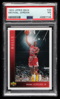 Michael Jordan 1993-94 Upper Deck #23 (PSA 7) at PristineAuction.com