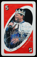 """Jerry """"The King"""" Lawler Signed UNO: WWE Legends of Wrestling Card (JSA COA) at PristineAuction.com"""