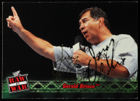 Gerald Brisco Signed 2001 Fleer WWF Raw Is War #11 (JSA COA) at PristineAuction.com