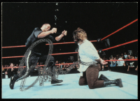 Mick Foley Signed 1999 Comic Images WWF SmackDown #58 The Rock/Mick Foley (JSA COA) at PristineAuction.com