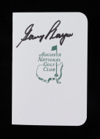 Gary Player Signed Augusta National Golf Club Score Card (JSA COA) at PristineAuction.com