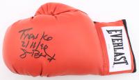 "James ""Buster"" Douglas Signed Everlast Boxing Glove Inscribed ""Tyson KO 2/11/90"" (JSA COA) at PristineAuction.com"