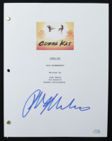 "Ralph Macchio Signed ""The Karate Kid"" Movie Script (AutographCOA COA) at PristineAuction.com"