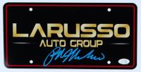 "Ralph Macchio Signed ""The Karate Kid"" LaRusso Auto Group License Plate (AutographCOA COA) at PristineAuction.com"