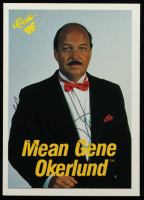 """Mean"" Gene Okerlund Signed 1990 Classic WWF #51 (JSA COA) at PristineAuction.com"