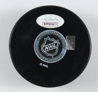 """Viktor Arvidsson Signed Predators Logo Hockey Puck Inscribed """"RV"""" (JSA COA) at PristineAuction.com"""