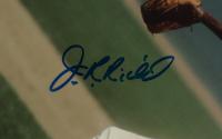 J.R. Richard Signed Astros 19x22 Custom Framed Photo Display (JSA COA) at PristineAuction.com