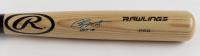 "Chipper Jones Signed Rawlings Pro Baseball Bat Inscribed ""HOF 18"" (Beckett COA & JSA Hologram) at PristineAuction.com"