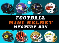 Schwartz Sports Football Mini Helmet Signed Mystery Box - Series 30 (Limited to 150) at PristineAuction.com