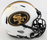 Deebo Samuel Signed 49ers Full-Size Authentic On-Field Lunar Eclipse Alternate Speed Helmet (JSA COA) at PristineAuction.com