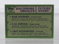 1982 Topps Complete Set of (792) Baseball Cards with Bob Bonner RC / Cal Ripken RC / Jeff Schneider RC #21 at PristineAuction.com