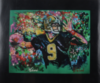 "Winford Galmon Signed ""Drew Brees"" 15x18 Print (Winford Art COA) at PristineAuction.com"