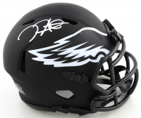 Jalen Hurts Signed Eagles Eclipse Alternate Speed Mini Helmet (JSA COA) at PristineAuction.com