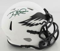 Jalen Hurts Signed Eagles Lunar Eclipse Alternate Speed Mini Helmet (JSA COA) at PristineAuction.com