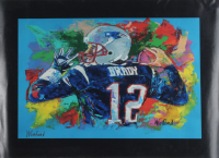 "Winford Galmon Signed ""Tom Brady"" 16x22 Print (Winford Art COA) at PristineAuction.com"
