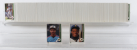 1989 Upper Deck Baseball Complete Set of (800) Cards with Ken Griffey Jr. #1 RC, Randy Johnson #25 RC at PristineAuction.com