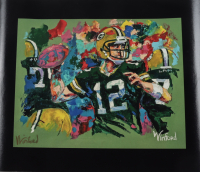 "Winford Galmon Signed ""Aaron Rodgers"" 15x18 Print (Winford Art COA) at PristineAuction.com"