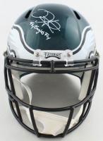 """Jalen Hurts Signed Eagles Full-Size Speed Helmet Inscribed """"Fly Eagles Fly"""" (JSA Hologram) at PristineAuction.com"""