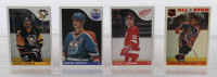 1985-86 Topps Complete Set of (165) Hockey Cards with Mario Lemieux #9 RC, Wayne Gretzky #120, Steve Yzerman #29 at PristineAuction.com