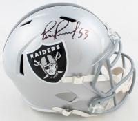 Bill Romanowski Signed Raiders Full-Size Speed Helmet (Beckett COA) at PristineAuction.com