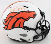 Bill Romanowski Signed Broncos Full-Size Authentic On-Field Lunar Eclipse Alternate Speed Helmet (Beckett COA) at PristineAuction.com
