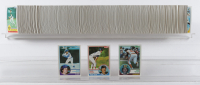 1983 Topps Complete Set of (792) Baseball Cards with Wade Boggs #498 RC, Ryne Sandberg #83 RC, Tony Gwynn #482 RC at PristineAuction.com
