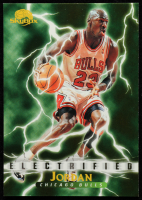 Michael Jordan 1995-96 SkyBox Premium #278 ELE at PristineAuction.com