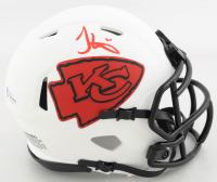 Tyreek Hill Signed Chiefs Lunar Eclipse Alternate Speed Mini-Helmet (Beckett COA) at PristineAuction.com