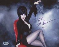 "Cassandra Peterson Signed ""Elvira"" 8x10 Photo Incribed ""XX"" (Beckett Hologram) at PristineAuction.com"