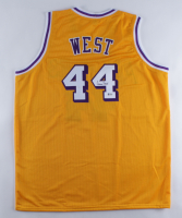 Jerry West Signed Jersey (Beckett COA) at PristineAuction.com