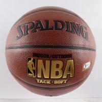 Giannis Antetokounmpo Signed NBA Logo Basketball (Beckett COA) at PristineAuction.com