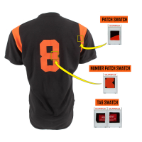 CAL RIPKEN JR 1999 ORIOLES GAME-WORN BP JERSEY MYSTERY SWATCH BOX! at PristineAuction.com