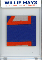 WILLIE MAYS 1979 METS GAME-WORN JERSEY MYSTERY SWATCH BOX! at PristineAuction.com