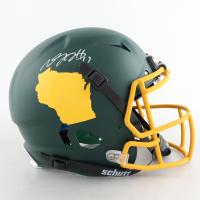 Davante Adams Signed Full-Size Authentic On-Field Helmet (Beckett COA) (See Description) at PristineAuction.com