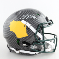 Davante Adams Signed Full-Size Authentic On-Field Hydro-Dipped Vengeance Helmet (Beckett COA) at PristineAuction.com