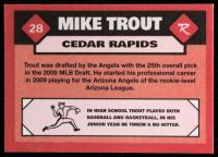 Mike Trout 2010 Cedar Rapids Kernels #28 at PristineAuction.com
