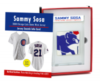 SAMMY SOSA 2000 CHICAGO CUBS GAME-WORN JERSEY MYSTERY SWATCH BOX! at PristineAuction.com