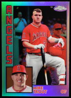 Mike Trout Topps Chrome '84 Topps #84TC17 at PristineAuction.com