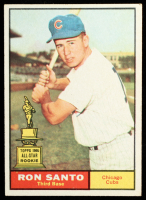 Ron Santo 1961 Topps #35 RC at PristineAuction.com
