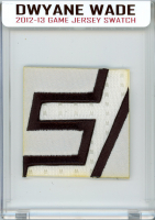 DWYANE WADE 2012-13 MIAMI HEAT GAME-WORN JERSEY MYSTERY SWATCH BOX! at PristineAuction.com