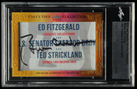 Bill Clinton 2015 Leaf Executive Collection Cut Signature Masterpiece at PristineAuction.com
