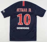 Neymar Signed Team Paris Saint-Germain Jersey (Beckett LOA) at PristineAuction.com