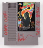 """Ari Lehman Signed Original 1989 """"Friday the 13th"""" Nintendo NES Video Game Cartridge Inscribed """"Game Over!"""" & """"The OG Jason"""" (PA COA) at PristineAuction.com"""