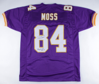 "Randy Moss Signed Jersey Inscribed ""Straight Cash Homie"" (Beckett COA) at PristineAuction.com"