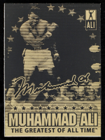 Muhammad Ali 2003 Laser Line 23 KT Gold Card at PristineAuction.com