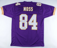 """Randy Moss Signed Jersey Inscribed """"Straight Cash Homie"""" (Beckett COA) at PristineAuction.com"""