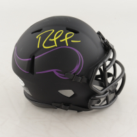 Randy Moss Signed Vikings Eclipse Alternate Speed Mini Helmet (Beckett COA) (See Description) at PristineAuction.com